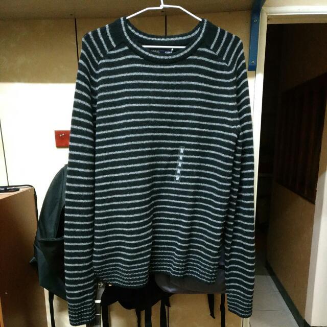 SPAO 條紋毛衣 M號