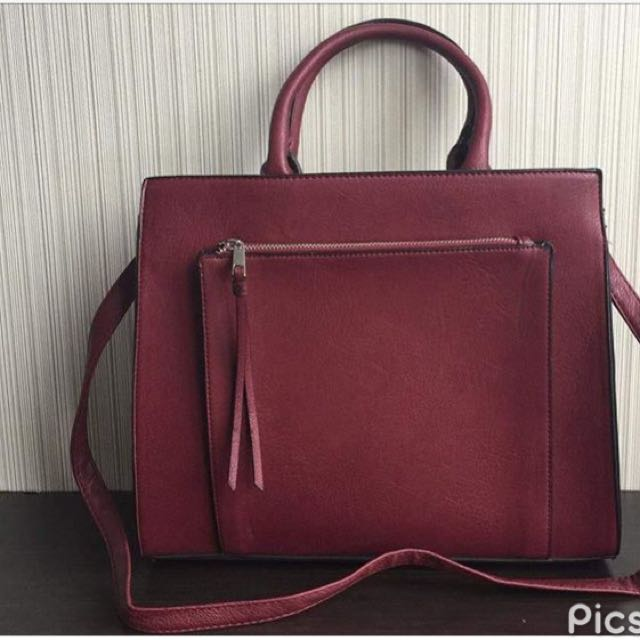stradivairus bag red