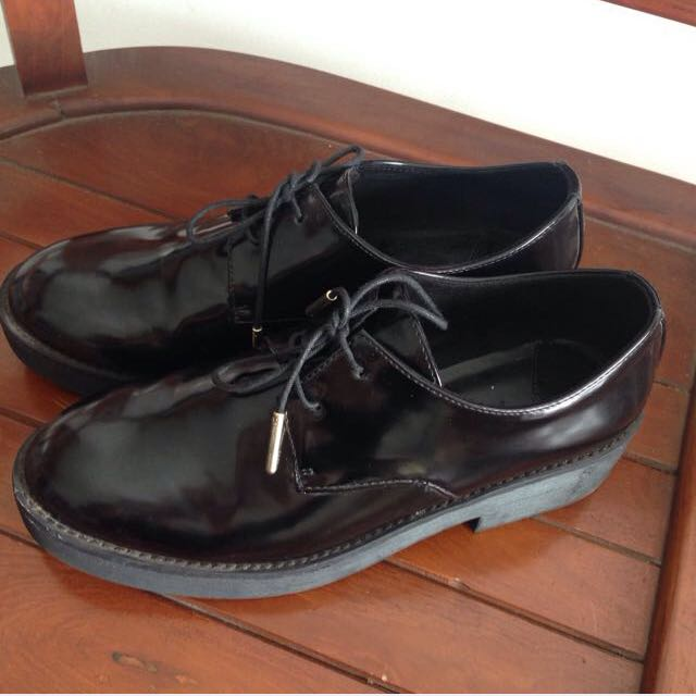 Stradivarius Black Boots VERY GOOD CONDITION