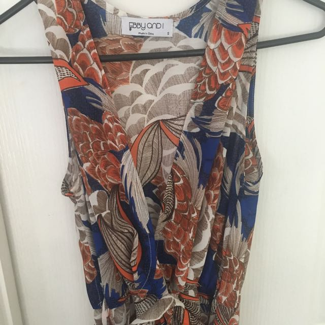 Summer Maxi Dress - Size 10