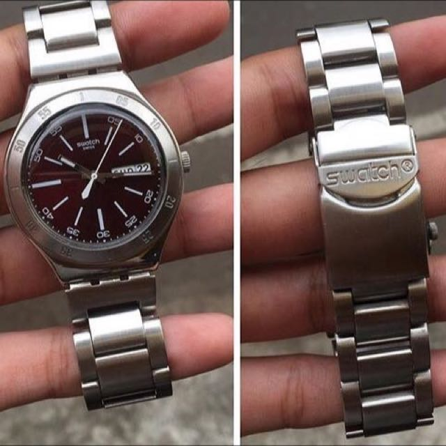 Swatch Irony Stainless Stell Ycs***