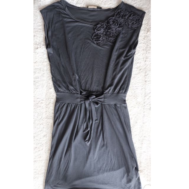 The limited Grey Cotton Dress