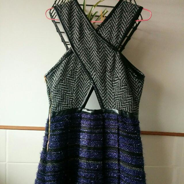 Three Floor Cut out Dress
