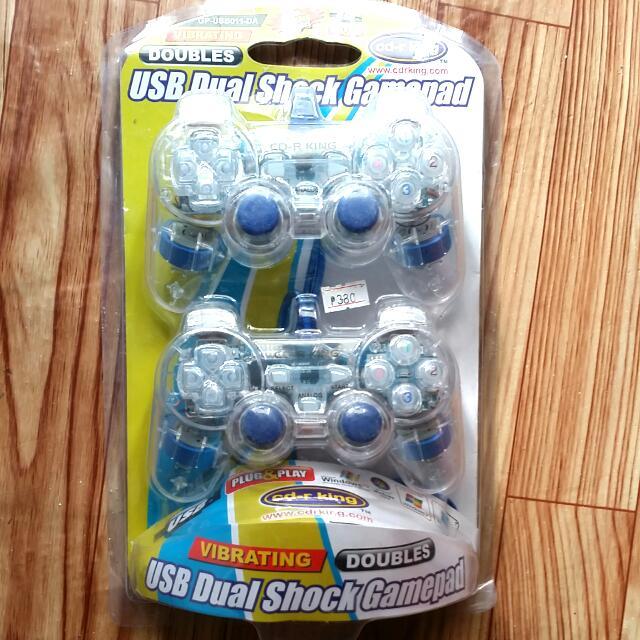 USB DUAL SHOCK GAMEPAD
