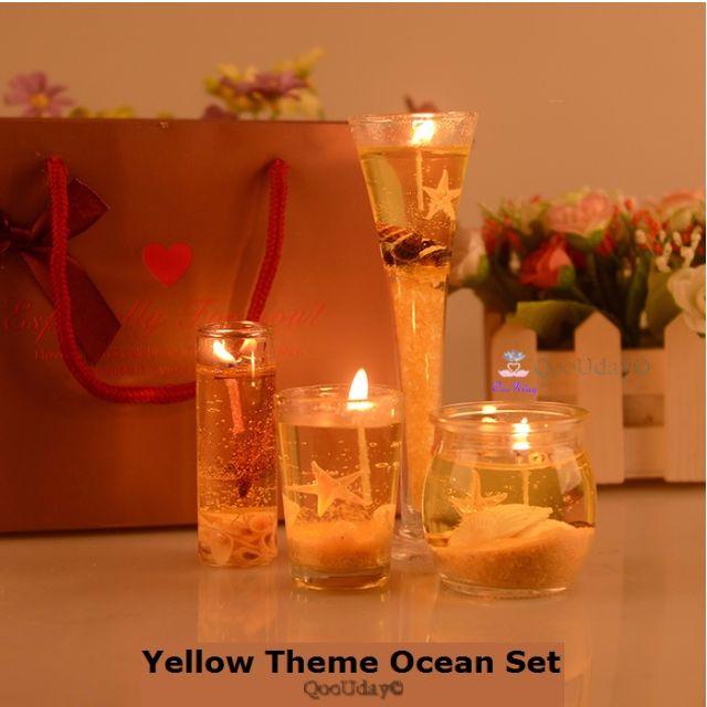 Valentine Wedding Proposal Ideas Ocean Series Crystal Jelly