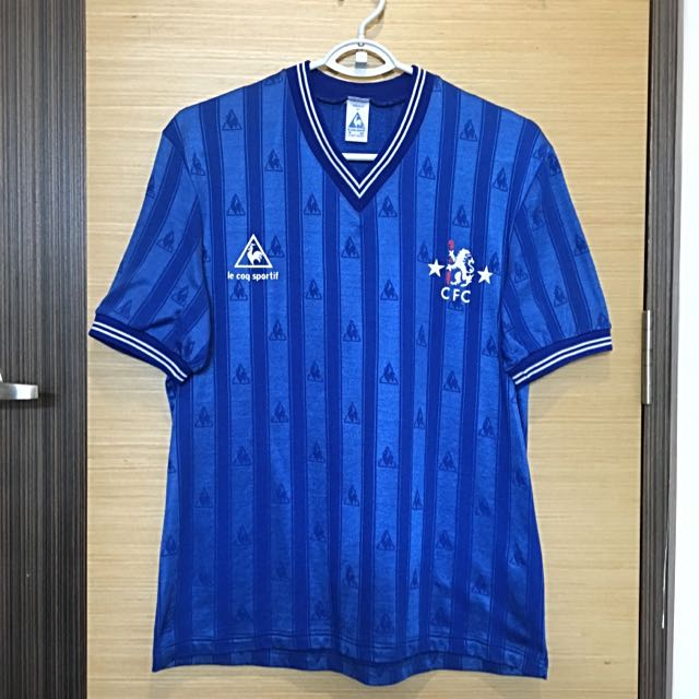 online store f8b43 6222c Vintage Chelsea FC Jersey 1985/86, Sports, Sports Apparel on ...