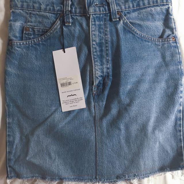 Levi's Vintage  Denim Skirt