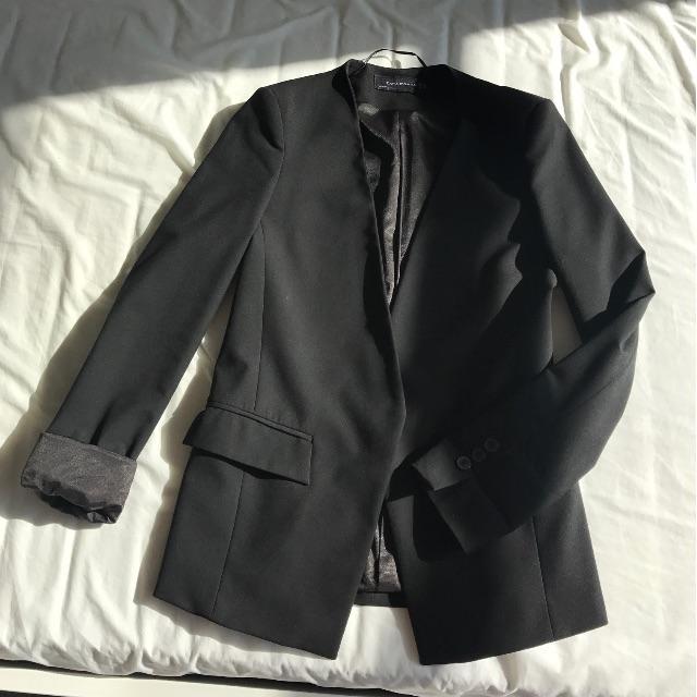 Zara blazer, black AU 6