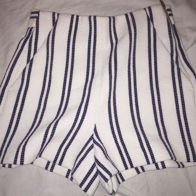 zara knit shorts