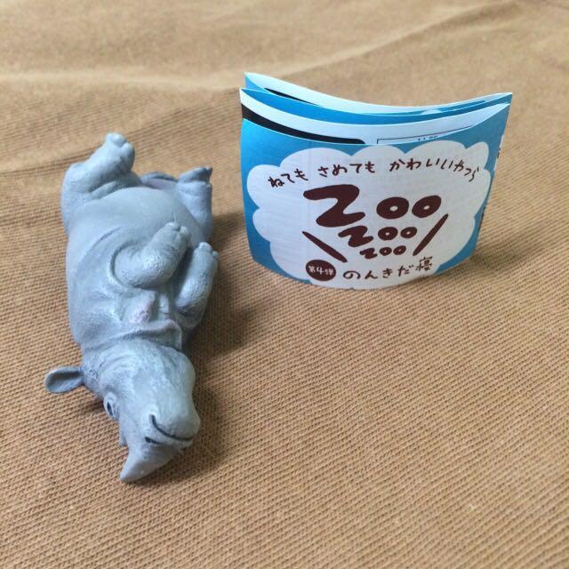 Zoo休眠動物園 河馬 扭蛋