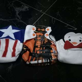 Cloth Diaper With Inserts
