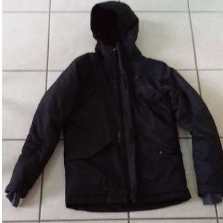Very warm and clean Black Columbia Winter Coat