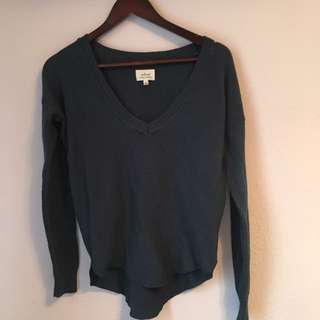 Wilfred (Aritzia) Deep Blue Sweater