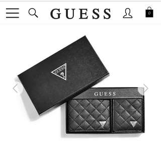 Brand New Guess Wallet Set