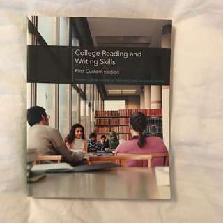 College Reading And Writing Skills