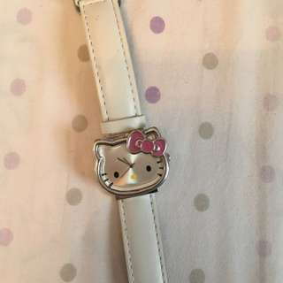 Hello Kitty White Sanrio Watch