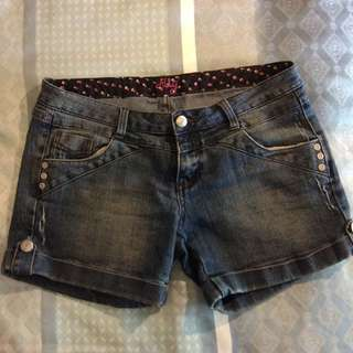 Denim Shorts - Size 10