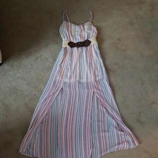 Small. Guess Maxi Long Dress.