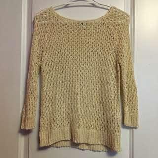 Vera Moda Mesh 3/4 Sleeve Shirt
