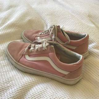 Vans Authentic Pink/white