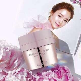 韓國 Hanskin 的粉紅保濕素顏霜  EX 二代 50ml