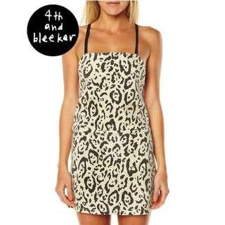 Billabong x 4th and Bleeker Backless Denim Mini Dress