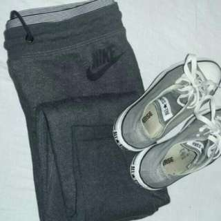 Nike Trackpants AND Shorts And Converses