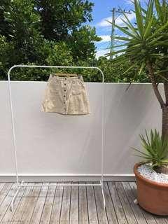 Princess Polly A-Line Corduroy Mini Skirt with Pockets