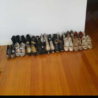 All Shoes $10 Each