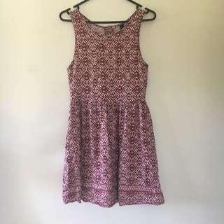 Factorie Patterned Dress