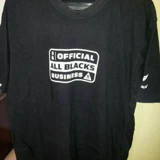 Original Adidas All Blacks tshirt