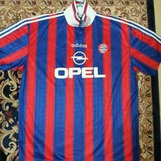 Rare : 1995-1997 Bayern Munich jersey OPEL