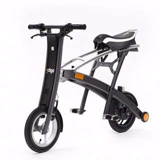 STIGO World's Lightest Electric Scooter With Seat [LTA APPROVED]