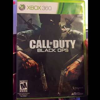 Call Of Duty Black Op Xbox360