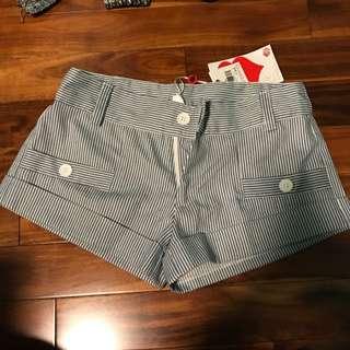 BNWT Striped Shorts
