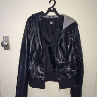 Jay Jays Leather Jacket Size 10