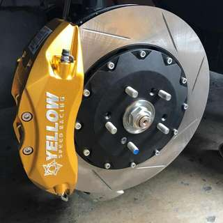 355mm 2pc Rotors (Slotted Or Drilled)