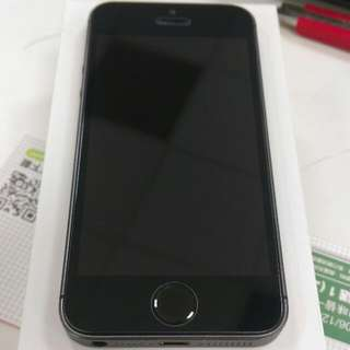 iPhone 5S 32G Space Gray 全機包膜