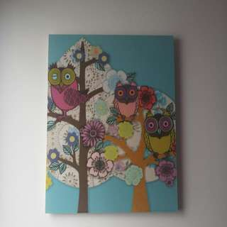 Ikea Owl Picture