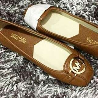 Michael Kors Flats Tan Size38