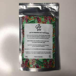 The Soak Life - Lost In Paradise Salty Bath Soak