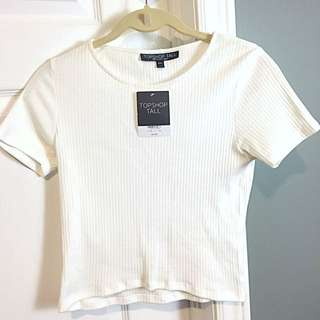 BNWT Topshop Crop Too