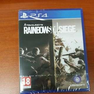 (Brand New) PS4 Rainbow Six Siege / R2