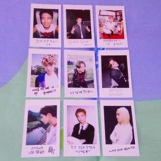 Seventeen Official Photocard (Boys Be)