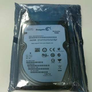 "全新未拆封 Seagate 2.5"" 750GB 5400RPM SATAII 16MB ST9750423AS 內接硬碟"