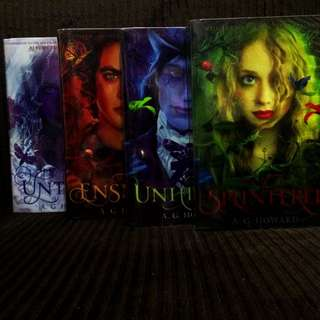 Splintered Series By A.G. Howard