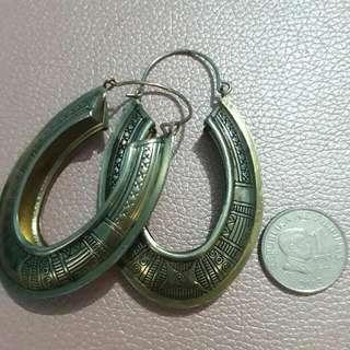 Earrings Wd Egyptian Detail