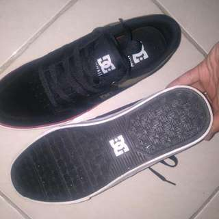 Dc Shoes Nyjah Vulc Black Red Ori Obral Santai