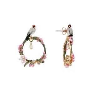 Les Nereides Love Bird Earrings