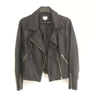 Lily Loves Leather Jacket - Size 8